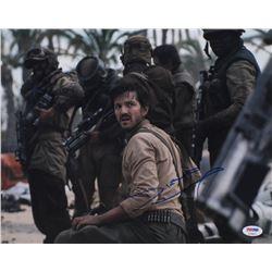 "Diego Luna Signed ""Rogue One: A Star Wars Story"" 11x14 Photo (PSA COA)"