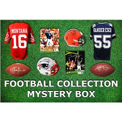 Football Collection Mystery Box - Series 5 (Limited to 75) (4 Autographs Items Per Box)