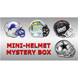Schwartz Sports Football Hall of Famer Signed Mini Helmet Mystery Box - Series 12 (Limited to 75)