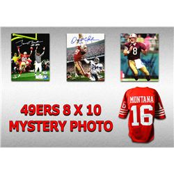 San Francisco 49ers Signed Mystery 8x10 Photo – World Champions Edition - Series 3 - (Limited to 1