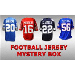 Schwartz Sports Football Hall of Famer Signed Mystery Box Football Jersey Series 17 - (Limited to 75