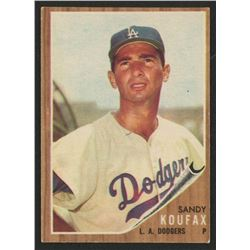 1962 Topps #5 Sandy Koufax