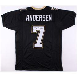 Morten Andersen Signed New Orleans Saints Jersey (JSA COA)