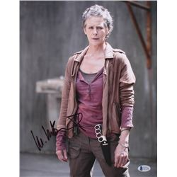 "Melissa McBride Signed ""The Walking Dead"" 11x14 Photo (Beckett COA)"