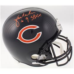 "Jim McMahon Signed Chicago Bears Full-Size Helmet Inscribed ""SBXX"" (Beckett COA)"