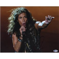 Steven Tyler Signed 11x14 Photo (Beckett Hologram)