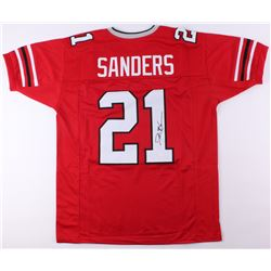 Deion Sanders Signed Atlanta Falcons Jersey (JSA COA)