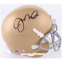 Joe Montana Signed Notre Dame Fighting Irish Mini-Helmet (JSA COA)
