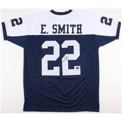 Emmitt Smith Signed Dallas Cowboys Jersey (Beckett COA  Prova Hologram)