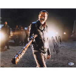 "Jeffrey Dean Morgan Signed ""The Walking Dead"" 11x14 Photo (Beckett COA)"