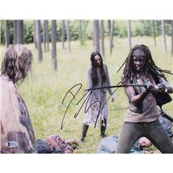 "Danai Gurira Signed ""The Walking Dead"" 11x14 Photo (Beckett COA)"