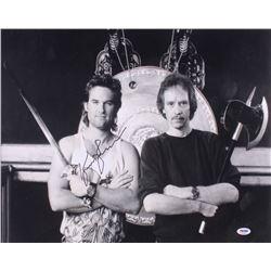 "Kurt Russell Signed ""Big Trouble in Little China"" 16x20 Photo (PSA COA)"