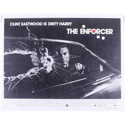 """Clint Eastwood Signed """"Dirty Harry"""" 22x28 Poster (PSA LOA)"""
