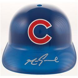 Mark Grace Signed Chicago Cubs Full-Size Replica Batting Helmet (JSA COA)