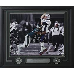 Brandon Graham Signed Philadelphia Eagles 22x27 Custom Framed Photo Display (JSA COA)