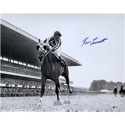 "Ron Turcotte Signed ""1973 Belmont Stakes"" 16x20 Photo (Beckett COA)"