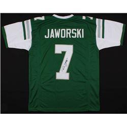 Ron Jaworski Signed Philadelphia Eagles Jersey (JSA COA)