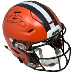 Odell Beckham Jr. Signed Cleveland Browns Full-Size Authentic On-Field Speedflex Helmet (JSA COA)