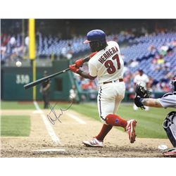 Odubel Herrera Signed Philadelphia Phillies 16x20 Photo (JSA COA)