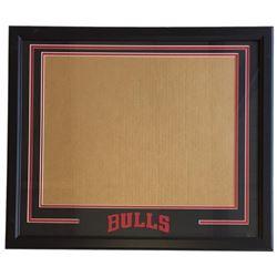 Chicago Bulls 22x27 Custom Framed Photo Kit Display