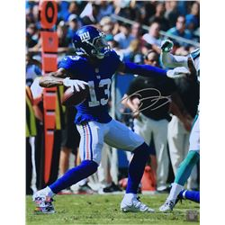 Odell Beckham Jr. Signed New York Giants 16x20 Photo (JSA COA)