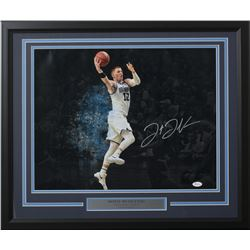 Donte DiVincenzo Signed Villanova Wildcats 22x27 Custom Framed Photo (JSA COA)