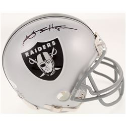 Antonio Brown Signed Oakland Raiders Mini Helmet (JSA COA)