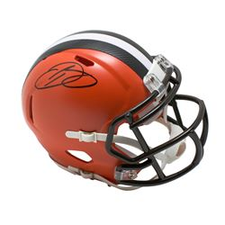 Odell Beckham Jr. Signed Cleveland Browns Speed Mini Helmet (JSA COA)