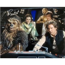 "Peter Mayhew Signed ""Star Wars: Return of the Jedi"" 16x20 Photo Inscribed ""Chewbacca"" (Steiner COA)"
