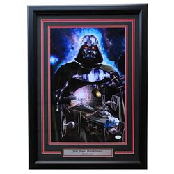 "Greg Horn Signed Star Wars ""Darth Vader"" 20x26 Custom Framed Lithograph Display (JSA COA)"