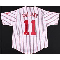 Jimmy Rollins Signed Philadelphia Phillies Jersey (Beckett COA)