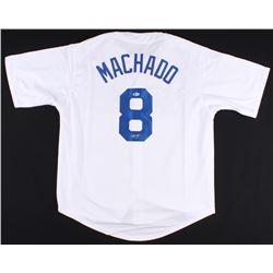 Manny Machado Signed Los Angeles Dodgers Jersey (Beckett COA)