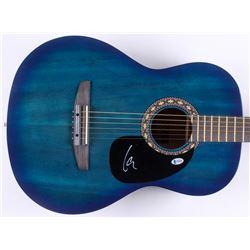 "Lars Ulrich Signed 39"" Acoustic Guitar (Beckett COA)"