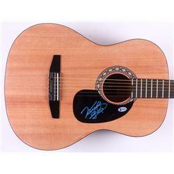 "Vince Gill Signed 38.5"" Acoustic Guitar (Beckett COA)"