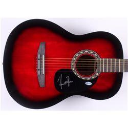 "James Taylor Signed 38.5"" Acoustic Guitar (Beckett COA)"