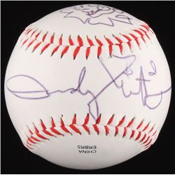 Andy Muschietti Signed OL Baseball With Sketch  (JSA COA)
