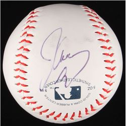 Jim Carrey Signed OL Baseball (JSA COA)