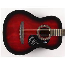 "Tyler Hubbard  Brian Kelley Signed 38.5"" Acoustic Guitar (Beckett COA)"
