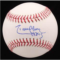 """Randy Johnson Signed OML Baseball Inscribed """"HOF 15"""" (MAB Hologram)"""