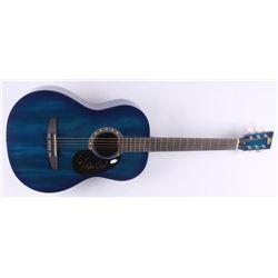 "Lee Greenwood Signed 38.5"" Acoustic Guitar (JSA COA)"