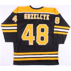 Matt Grzelcyk Signed Boston Bruins Jersey (JSA COA)