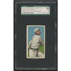 1909-11 T206 #32 Chief Bender / Pitching No Trees (SGC 5)