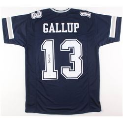 Michael Gallup Signed Dallas Cowboys Jersey (JSA COA)