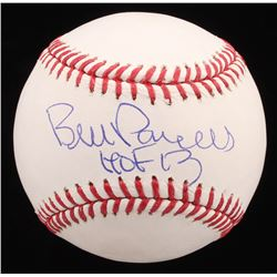 "Bill Parcells Signed OML Baseball Inscribed ""HOF 13"" (JSA COA)"