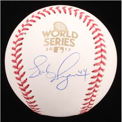 Luke Gregerson Signed 2017 World Series Baseball (JSA COA)