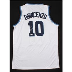 Donte DiVincenzo Signed Villanova Wildcats Jersey with 2018 Final Four Patch (JSA COA)