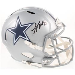 Leighton Vander Esch Signed Dallas Cowboys Full-Size Speed Helmet (Prova COA)