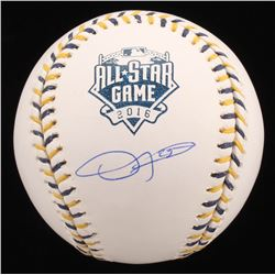 Dexter Fowler Signed 2016 All-Star Game Baseball (JSA COA)