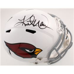 Kurt Warner Signed Arizona Cardinals Full-Size Speed Helmet (Radtke COA)