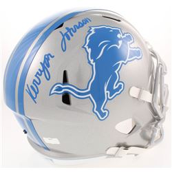 Kerryon Johnson Signed Detroit Lions Full-Size Speed Helmet (Radtke COA)